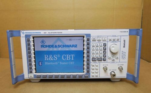 Rohde & Schwarz CBT Bluetooth LE Audio Spectrum Tester EDR B55 1153.9000.35 R&S